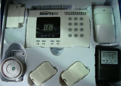 GSM双网无线报警器(套装)